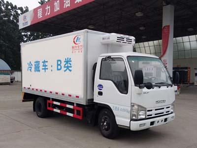 五十铃100P冷藏车(国五)