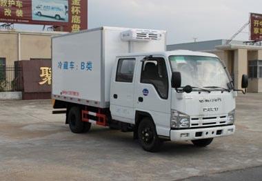 五十铃双排冷藏车(国五)