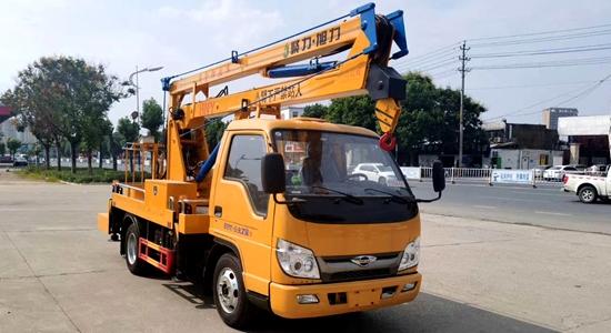 福田时代13.5米高空作业车