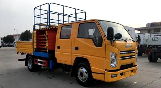 江铃10米剪叉高空作业车