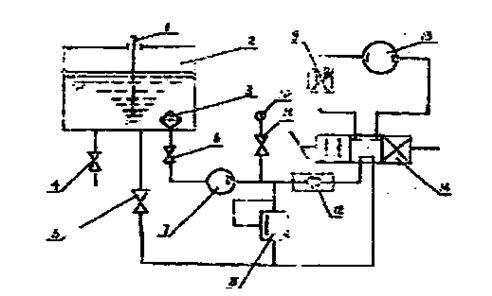 疏通机电路接线图