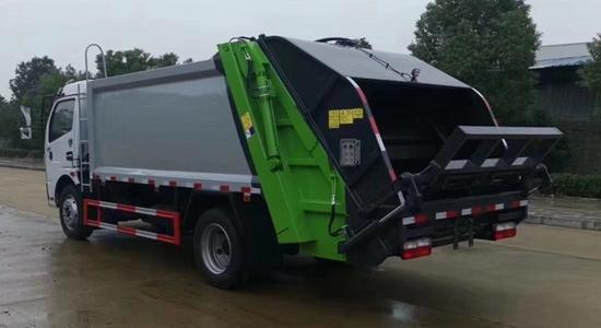 压缩垃圾车(国六)