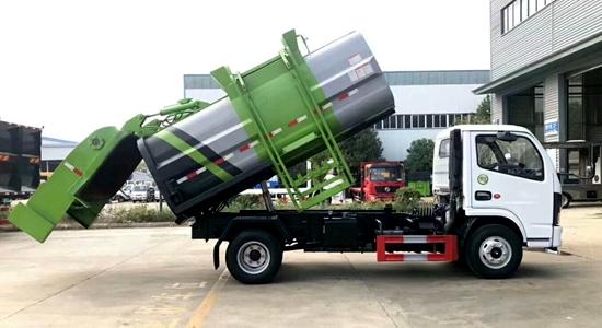 多利卡餐厨垃圾车